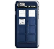 Blue Police Box iPhone Case/Skin