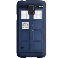 Blue Police Box Samsung Galaxy Case/Skin