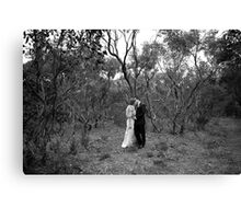Wedding Day Canvas Print