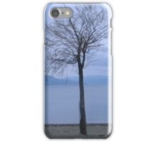 Lonely Tree on the Beach iPhone Case iPhone Case/Skin
