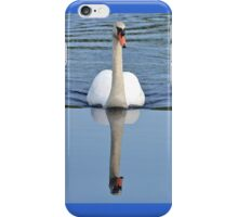 Mute Swan comin at ya! (iPhone Case) iPhone Case/Skin