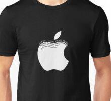 Tribute to Steve Jobs Unisex T-Shirt
