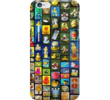 Collection Of Ducks: Black: iPhone Case iPhone Case/Skin