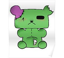 Zombie Bear Poster