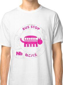nekobus pink Classic T-Shirt