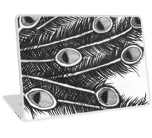 Peafowl Feathers  Laptop Skin