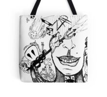 Planetary Destruction Tote Bag