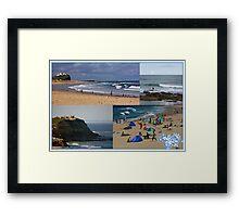 Sea Views Framed Print