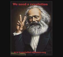 Karl Marx Revolution by ozrose