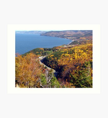 Autumn at Pleasant Bay Art Print