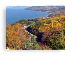 Autumn at Pleasant Bay Canvas Print