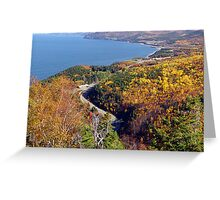 Autumn at Pleasant Bay Greeting Card