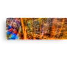 Comic Frenzy - Kinetic Abstract Canvas Print