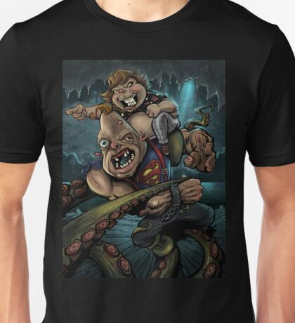 Sloth and Chunk vs. The Giant Squid T-Shirt