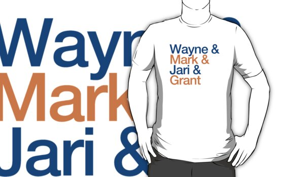 Wayne & Mark & Jari & Grant by pootpoot