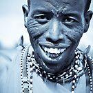 Maasai Warrior  by Jill Fisher