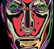 Abstract face 13 by ChrisButler
