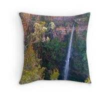 Minnie Ha Ha Falls Throw Pillow