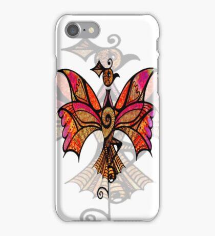 iphone case - celtic bird iPhone Case/Skin