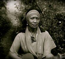 Moko mother of spirit by Allan Johnston