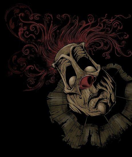 Dark Clown by Brian Allen