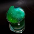 Green foam by claire87