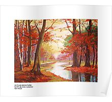 AUTUM REFLECTIONS Poster