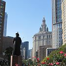 Chatham Square,Chinatown, New York City by Patricia127