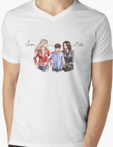 Swan Mills Family (Once Upon a Time) Mens V-Neck T-Shirt