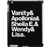 Prince Protégés Apollonia & Carmen Electra Helvetica Threads iPad Case/Skin
