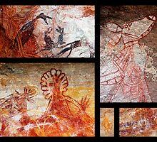 Aboriginal Rock Art - Arnhem Land, Northern Territory, Australia by Ruth Durose