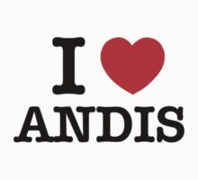 I Love ANDIS by meunice