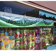 Jesus King of Joondalup by Orbea Photographic Print