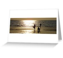 Childs Play Panorama 1 Greeting Card