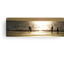 Childs Play Panorama 4 Canvas Print