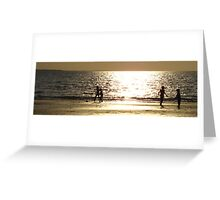 Childs Play Panorama 4 Greeting Card
