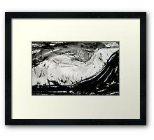 wind over the prairie.... Framed Print