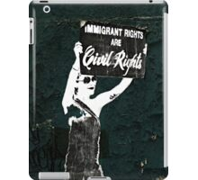 Fight for your rights iPad Case/Skin