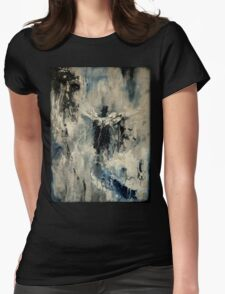 Long Walk Home Womens Fitted T-Shirt