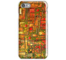 iphone case - textural abstract 002 iPhone Case/Skin