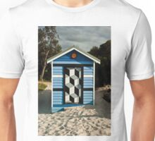 0057 Beach Box or Tardis ? Unisex T-Shirt