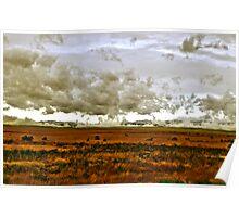 Skull Valley, Utah Storm Poster