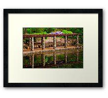 Araluen Botanic Gardens Framed Print