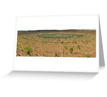 Wolfe Creek Crater  Greeting Card