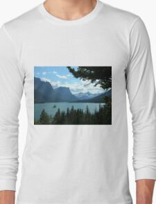 St. Mary's Lake Long Sleeve T-Shirt