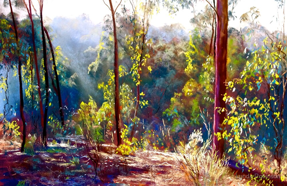 A Sparkly Bush Morning by Lynda Robinson