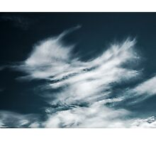 Watery clouds Photographic Print