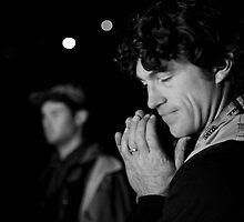 Light man having a moment by Allan Johnston