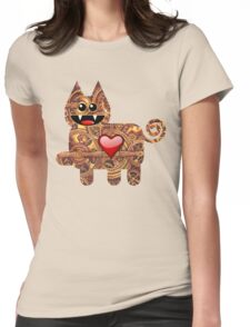 KITTEN 2/6 Womens Fitted T-Shirt