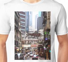 a flying fish in Soho Hong Kong Unisex T-Shirt